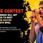 Farhan Akhtar Live Lucky Me Contest