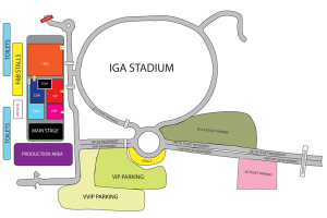 Stadium Layout