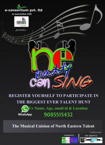 NE Buddy Can Sing - Musical Talent Hunt